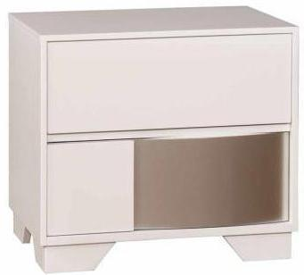 Havering - Nightstand - Glossy White