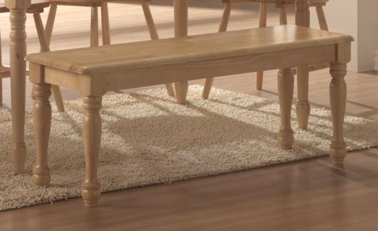 Benson Dining Bench - Natural