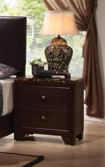 Conner Two Drawer Nightstand