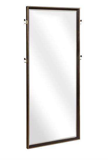 Tastemaker Bedroom Collection - Ingerson Floor Mirror - Smoked Peppercorn (Dark espresso)