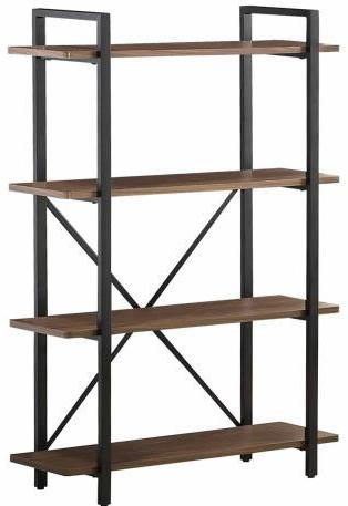 Industrial Bookcase - Light Brown