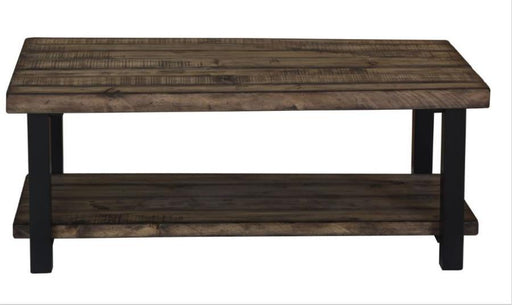 Summerland - Coffee Table - Rustic Brown/Black
