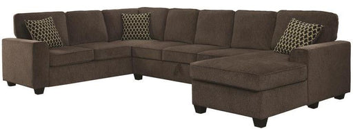 Provence Sectional - Brown