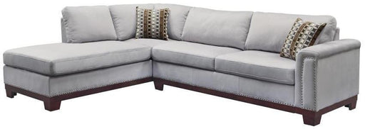 Mason Sectional - Blue Grey