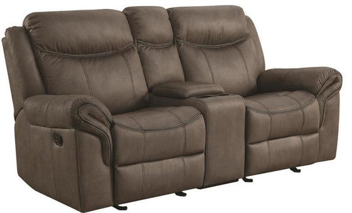Sawyer - Reclining Glider Loveseat w/ Center Console - 2 Colors