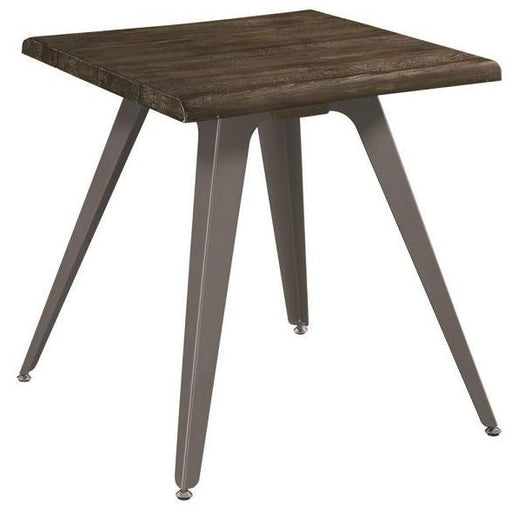Emmett - End Table - Dark Rustic Brown