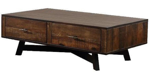 Montana - Coffee Table - Tobacco/Black