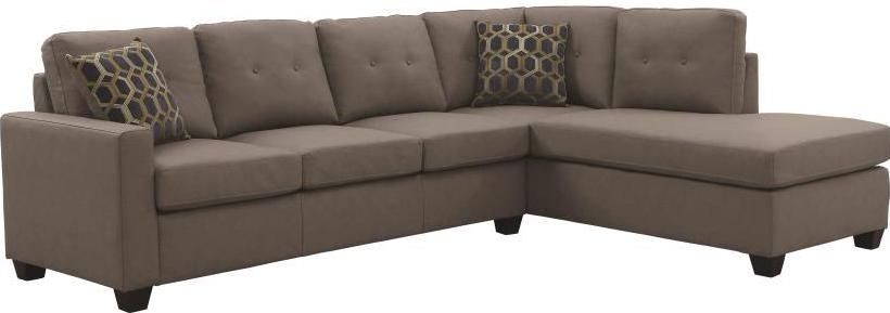 Powell Sectional - Taupe
