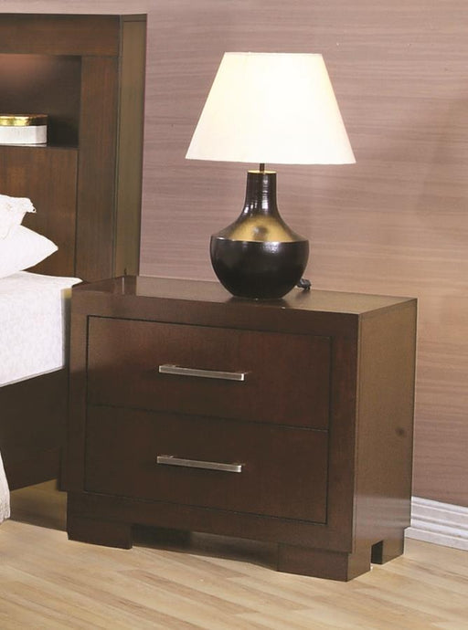 Jessica Two Drawer Nightstand