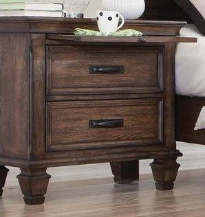 Franco - Nightstand - Burnished Oak