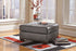 Alliston DuraBlend® Leather Oversized Accent Ottoman