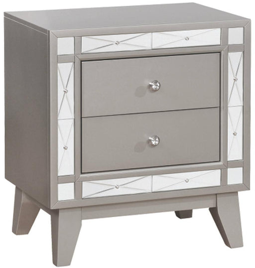 Leighton Two Drawer Nightstand