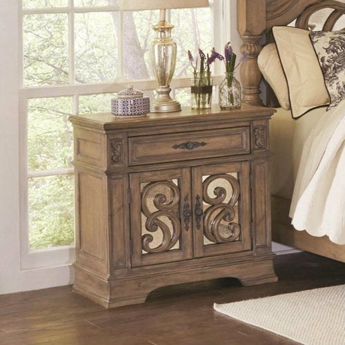 Ilana Two Door Nightstand