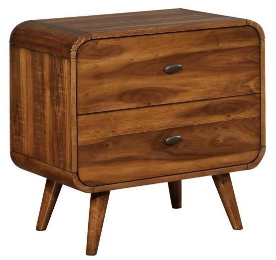 Robyn Two Drawer Nightstand