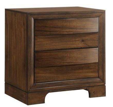 Hatfield - Nightstand - Cognac Brown