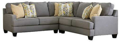 Chamberly Extendable Sectional - Alloy