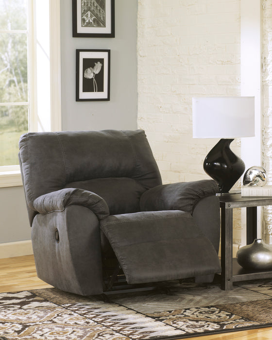 Tambo - Rocker Recliner - Pewter