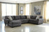 Sorenton Sectional - Slate