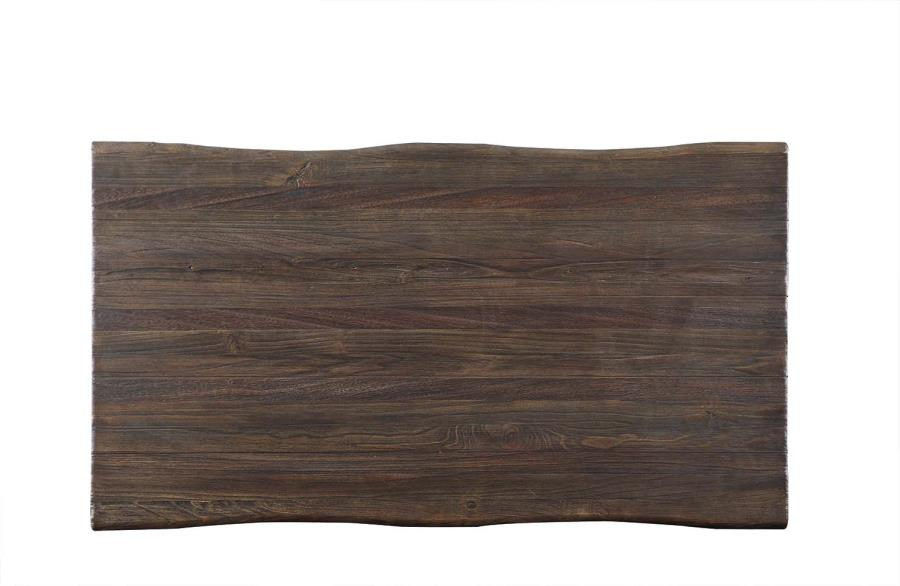 Emmett - Coffee Table - Dark Rustic Brown