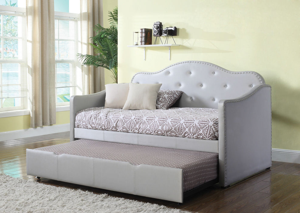 Antoinette Upholstered Daybed w/ Trundle