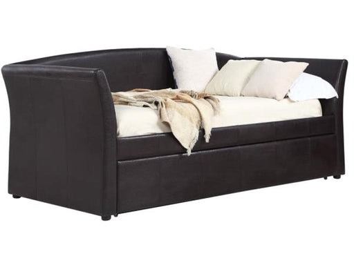 Nina Upholstered Daybed w/ Trundle - 2 Colors