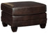 Embrook Ottoman - Genuine Leather