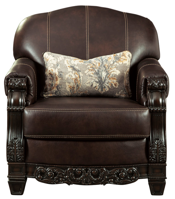 Embrook Chair - Genuine Leather