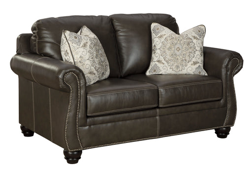Lawthorn Loveseat - Genuine Leather