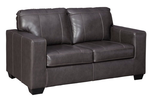 Morelos Loveseat - Genuine Leather - 2 Colors