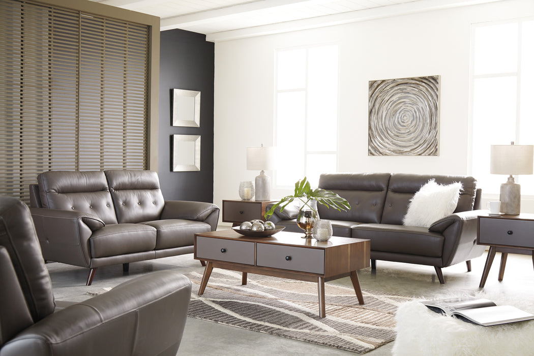 Sissoko Sofa - Genuine Leather