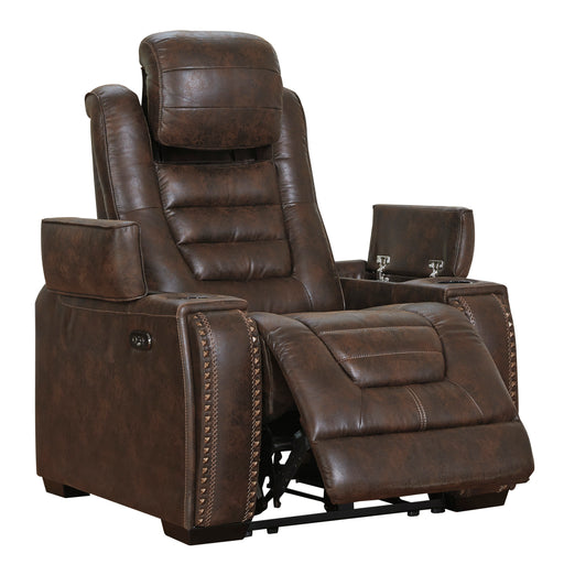 Game Zone - Power Recliner w/ Adjustable Headrest