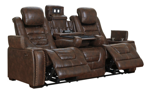 Game Zone - Power Sofa w/ Adjustable Headrest