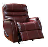 Bridger- Rocker Recliner - Genuine Leather - Optional Power