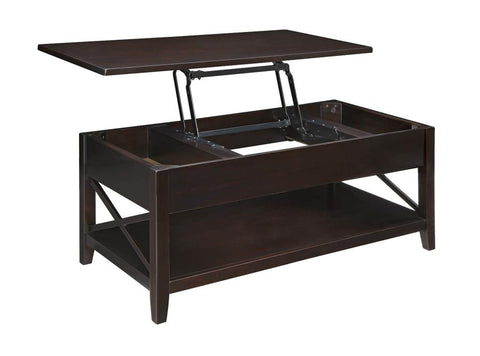 Brownswood - Lift Top Cocktail Table - Espresso