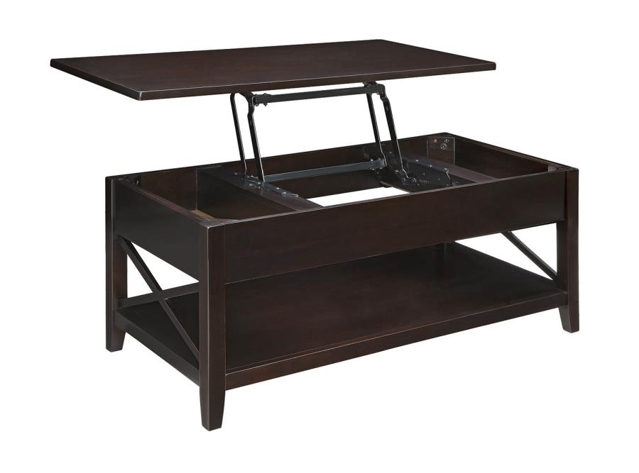 Brownswood Lift Top Cocktail Table Espresso Furniture Express