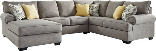 Renchen Sectional Chaise - Pewter