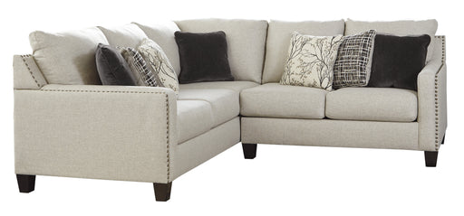 Hallenberg Extendable Sectional - Fog