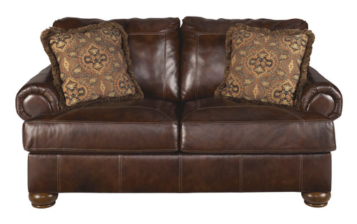 Axiom Loveseat - Genuine Leather