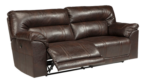 Barrettsville DuraBlend® - Reclining Sofa - Optional Power