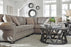 Olsberg Extendable Sectional - Steel