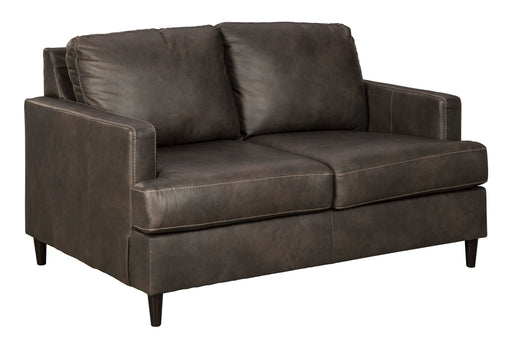 Hettinger Loveseat - Genuine Leather