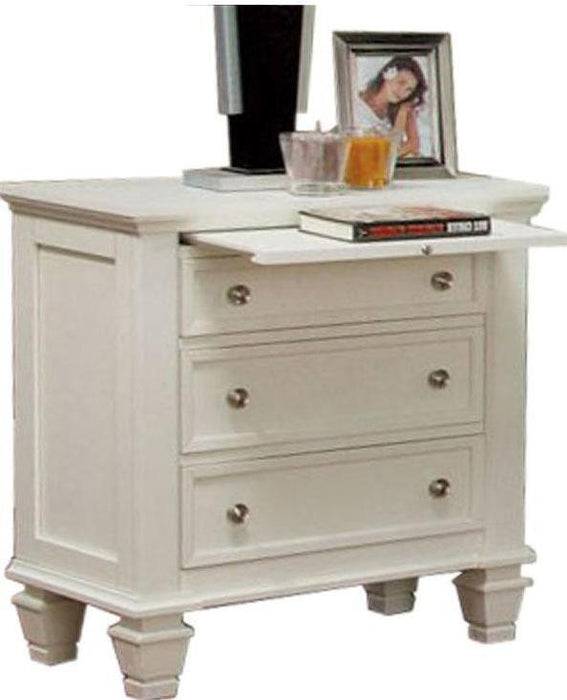 Sandy Beach Two Drawer Nightstand - Three Colors