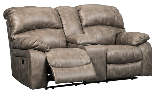 Dunwell - Power Reclining Loveseat w/ Adjustable Headrest - 2 Colors