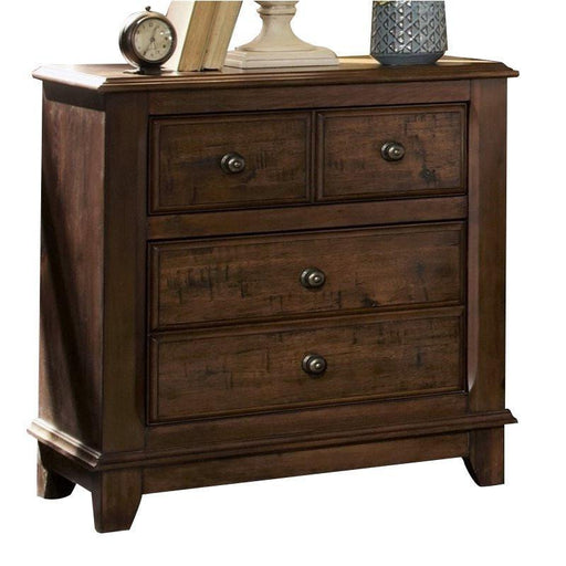 Laughton Two Drawer Nightstand