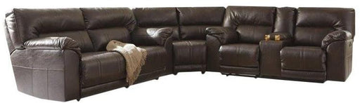 Barrettsville DuraBlend® - Reclining Sectional - Optional Power