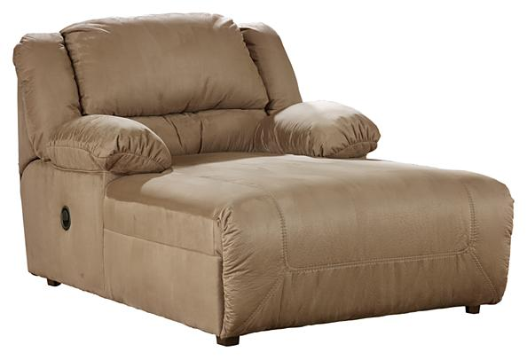 Hogan Press Back Chaise - Mocha