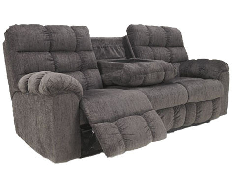 Acieona - Reclining Sofa w/ Drop Down Table