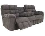 Acieona Reclining Sofa w/ Drop Down Table