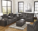 Acieona Reclining Sectional with Drop Down Table