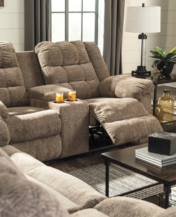 Workhorse - Reclining Loveseat - Cocoa